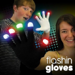 Flashing Light Up Gloves